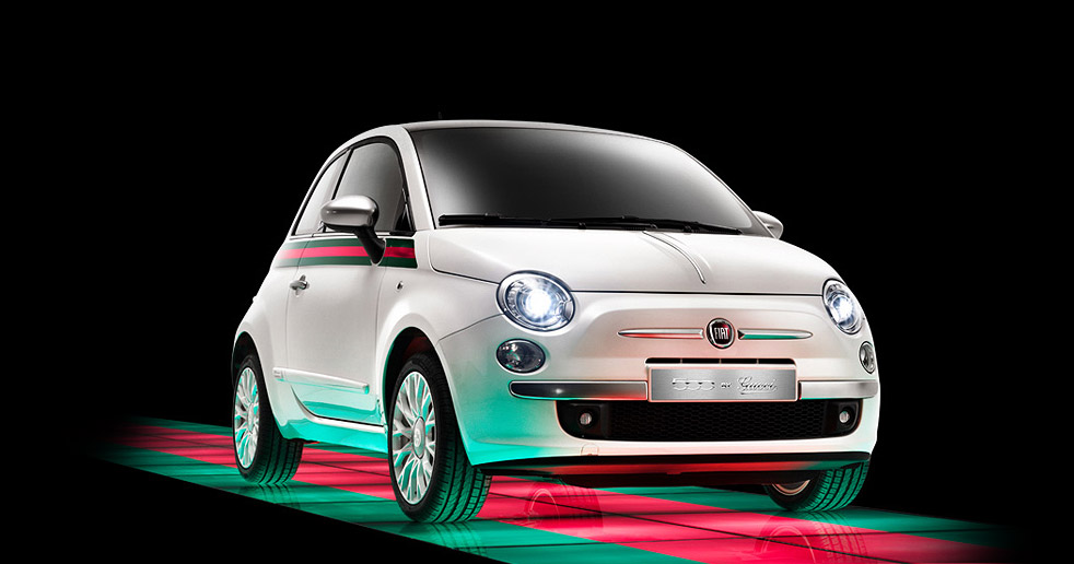 The Fiat 500 Just Got Fashionable, Courtesy of Gucci ...