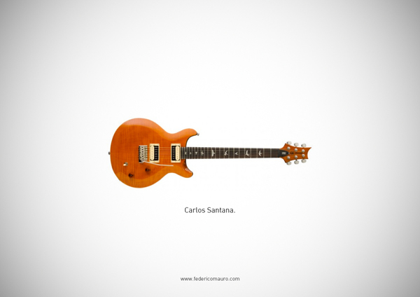 Famous Guitars Played By Iconic Musicians And Rock Stars