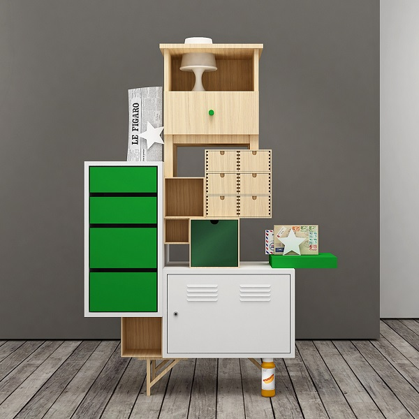 creatively assembled ikea furniture made by ignoring the instruction manual. Black Bedroom Furniture Sets. Home Design Ideas