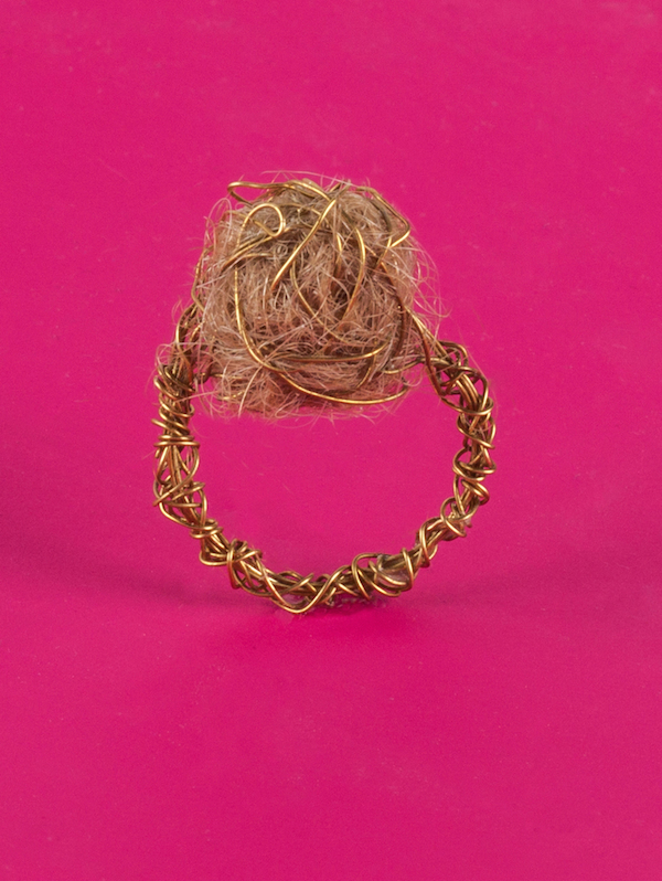 Ring Made Of Hair