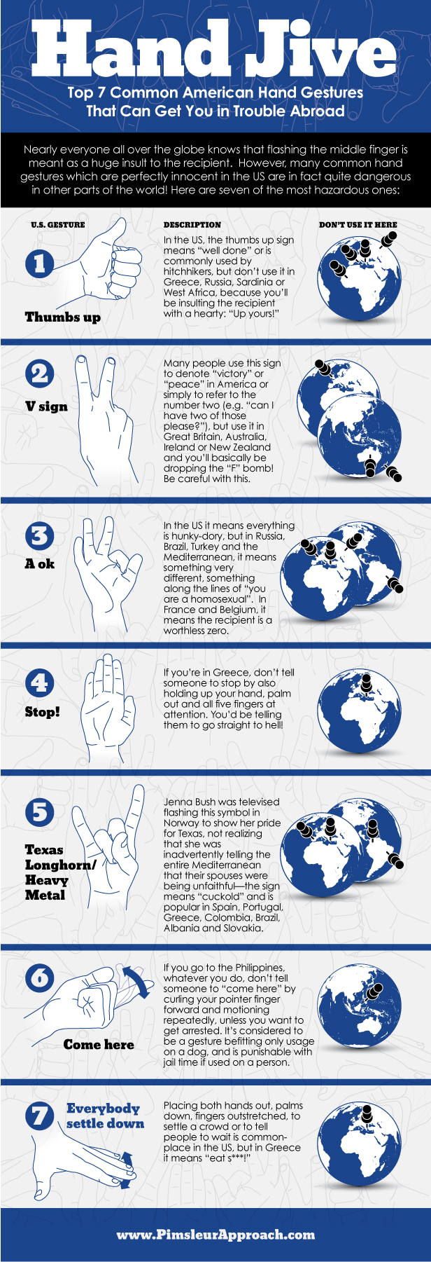 Hand symbols and their meanings image collections symbol and top 7 common american hand gestures that can get you in trouble top 7 common american buycottarizona