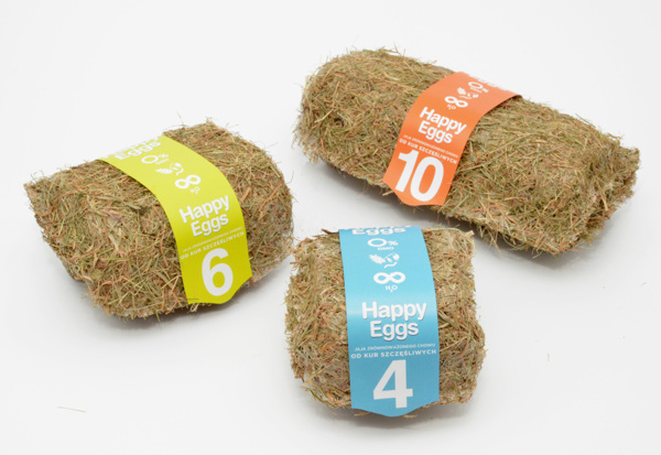 An Eco-Friendly Packaging For Eggs That Is Made Of Hay