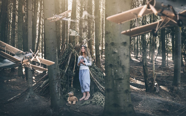Incredible Design Ideas For Self Confessed Introverts: Photographer Explores Her Dream Worlds With Surreal