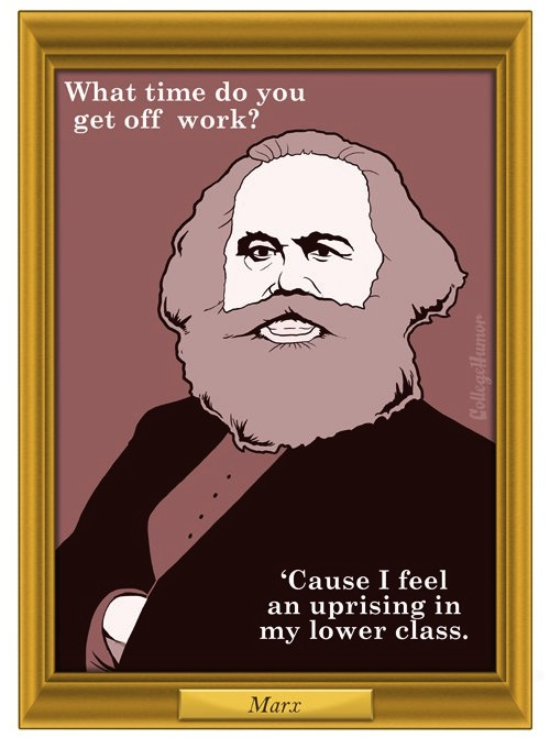Potential Pickup Lines Of Beethoven Karl Marx Thomas