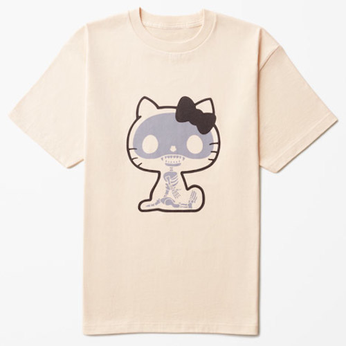 Nendo designs hello kitty themed t shirts for men for Hello kitty t shirt design