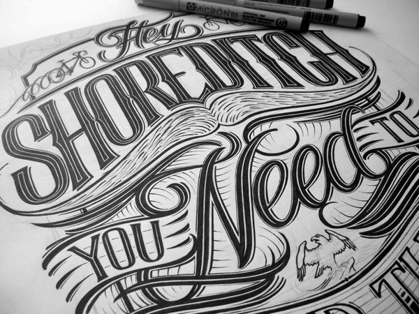 Hand-Lettered Typography by Mateusz Witczak