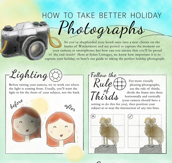 Infographic: How To Take Better Holiday Photographs With These Seven Tips