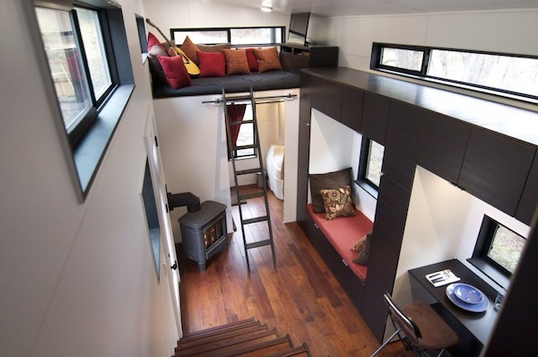 home, a tiny mobile home on wheels - designtaxi