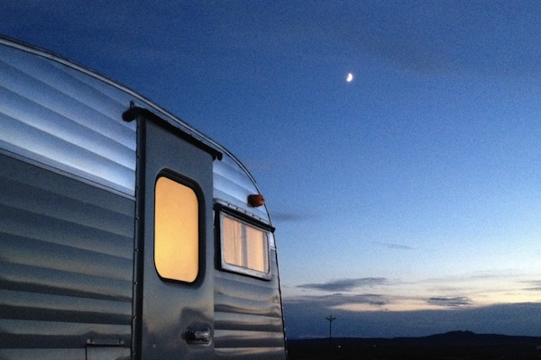 Sweet Vintage Camper Transformed Into A Mini Traveling Hotel