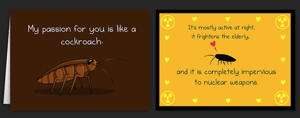 Horrible Greeting Cards Bring Your Message Across With Creepily