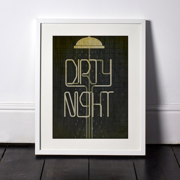 Fresh Spooky Typography Style Posters Of Famous Horror Movies