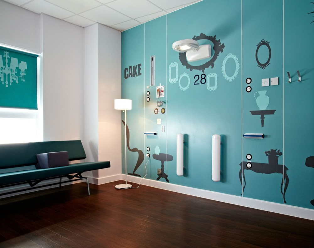 Boutique hospital wing for teenage cancer patients - Home interior decoration ideas ...