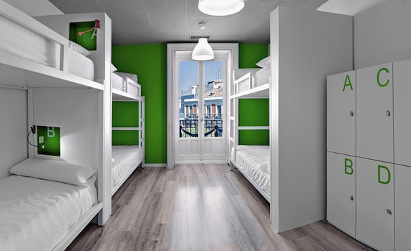 A new breed of designer hostels for the design minded for Hotel design madrid