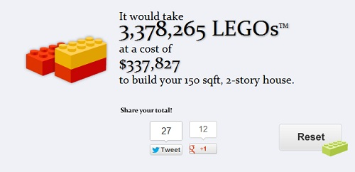 LEGO Calculator, How Many Bricks Does It Take To Build ...