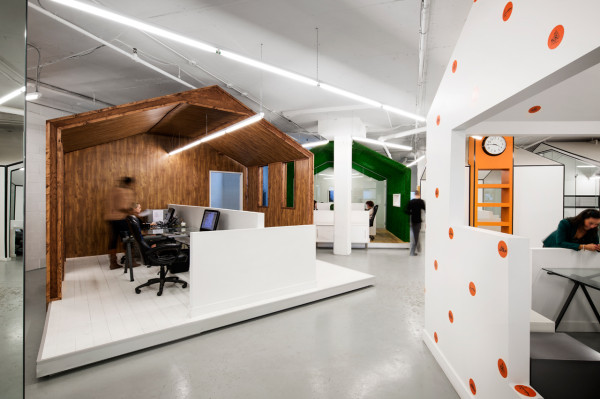 Liam Thinks Inspiring Creative Office Designed As A Quirky