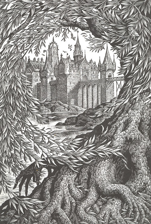 Beautiful Hand Engraved Harry Potter Covers Designtaxi Com