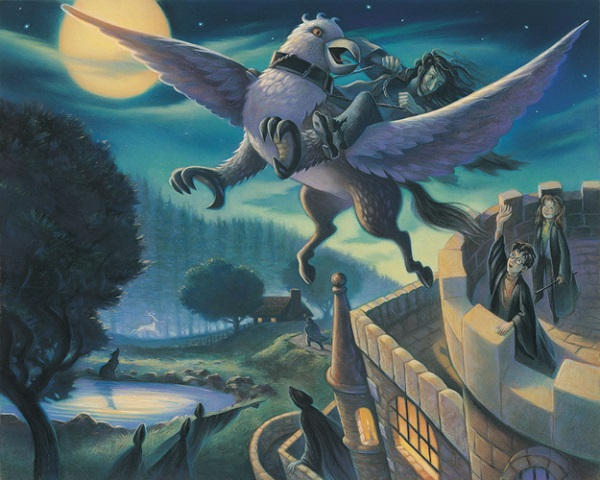 Harry Potter Book Illustrations ~ Previously unpublished 'harry potter illustrations by