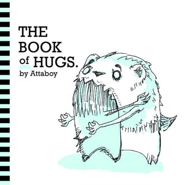 A Cute Book That Shows Animals In Different Types Of Hugs