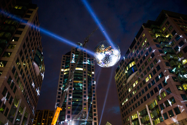 Outdoor Disco Lights City disco lights 100 images disco rainbow globe light 8in city disco lights liam thinks the biggest disco ball ever for large scale outdoor city disco lights workwithnaturefo