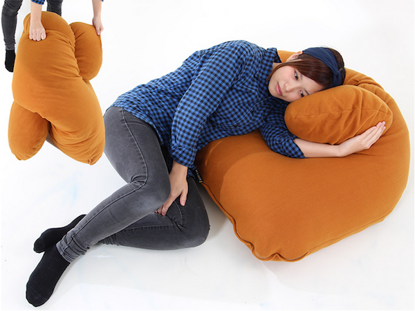Brilliant Double Pronged Hug Pillow That Cradles You