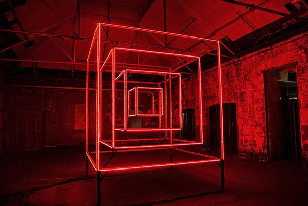 Cube Sculpture Lights Up To The Beat Of Music In Dazzling