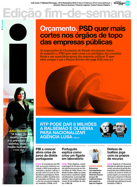 Portuguese Daily Named World S Best Designed Newspaper