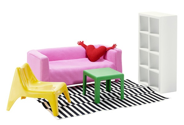 IKEA Launches Mini 'Dollhouse' Versions Of Its Iconic Furniture