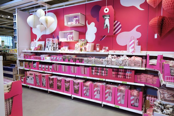 Ikea launches paper shop for stationery for Swedish design shop