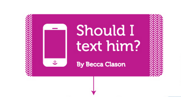 Should I text him? A guide to when you should text a guy