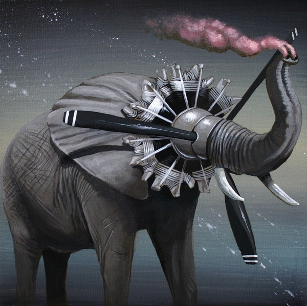 Artist Creates Unusual Artworks Of Animal Machine Hybrids