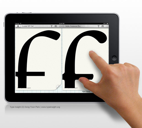 For A Thesis Design Student Builds Typography App