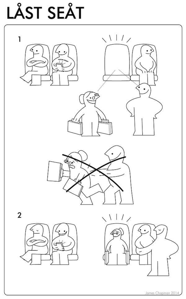 Funny Ikea Instructions Teaches You How To Handle Real Life