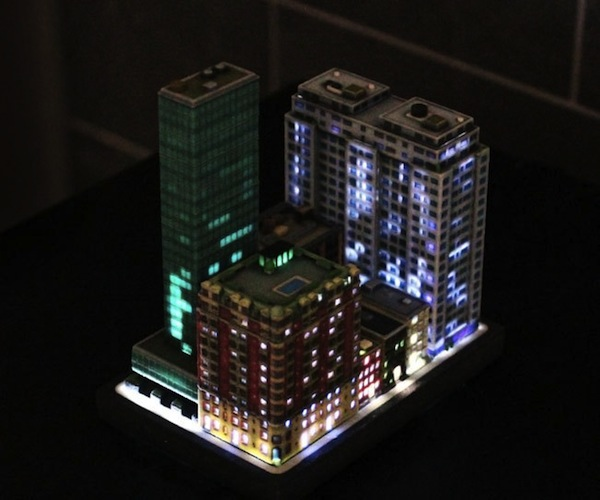Build Miniature Towns With 3D-Printed City Buildings That