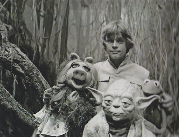 Rare Photos Of 'The Muppets' Visiting 'The Empire Strikes Back' Set