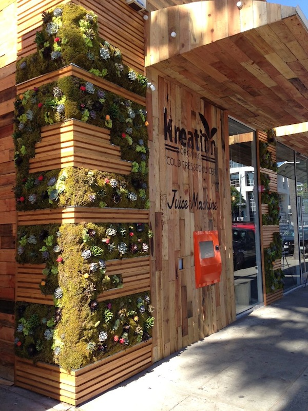 Beverly Hills Gets A Juice Vending Machine: For Goodness 24/7 :