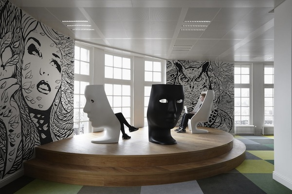 An Ad Agency S Office Redesigned To Look Like A Pop Art