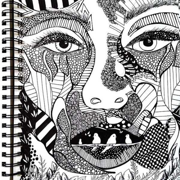 Incredibly Intricate Drawings Made With Pen Amp Ink