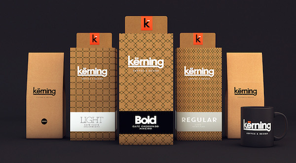 Liam Thinks K Rning Typography Inspired Packaging Of A