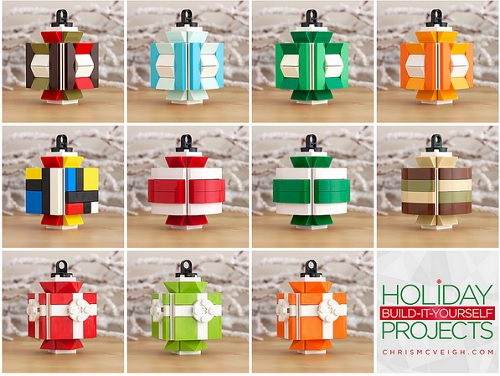 Decorate Your Christmas Tree With DIY LEGO Holiday