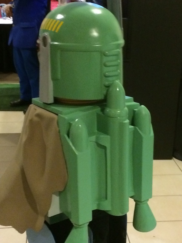 Creative Dad Builds An Awesome Boba Fett Lego Costume