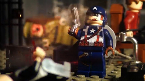 St Louis Taxi >> In LEGO Stop-Motion Video, Captain America Kicks Ass ...