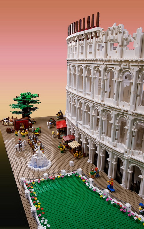 World's First LEGO Colosseum by Ryan McNaught   HiConsumption