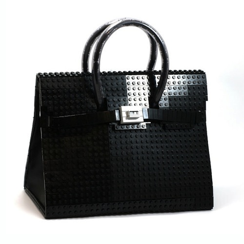 bricks to produce a bag as a tribute to the famous Hermés Birkin bag
