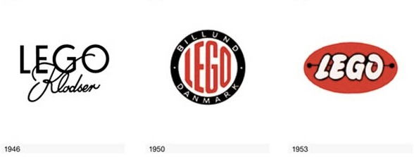 Liam Thinks!: The Evolution Of The LEGO Logo