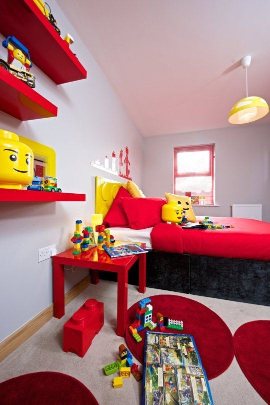 Would You Stay In A Lego Themed Room Designtaxi Com