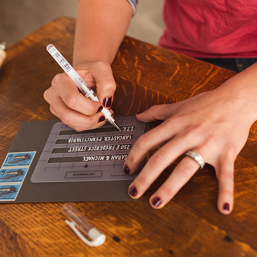 simple  clever  u2018lettermate u2019 helps you write in straight