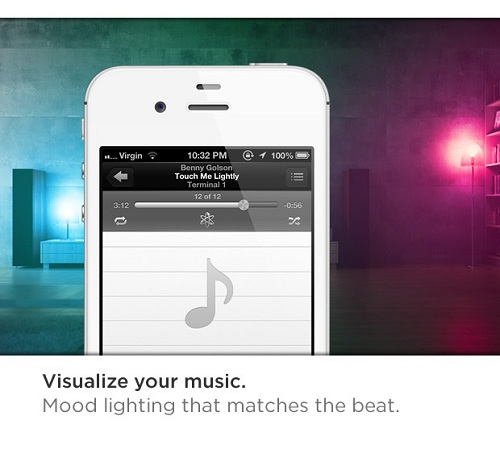 Christmas Lights You Control With Your Phone: A Smart Multi-Colored Light Bulb That You Can Control With