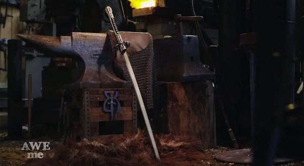 This Awesome 'Lightsaber-Katana' Hybrid Makes A Mean Weapon