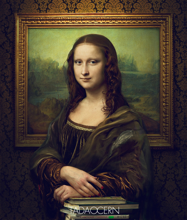 Da vincis mona lisa re imagined as a photograph designtaxi after showing us how van gogh may have looked like in real life lithuanian tadao cern has now re imagined leonardo da vincis mona lisa as a photograph thecheapjerseys Choice Image