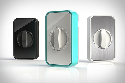 Exceptionnel Phone Controlled Lock Lets You Lock Your Door From Anywhere In The World    DesignTAXI.com